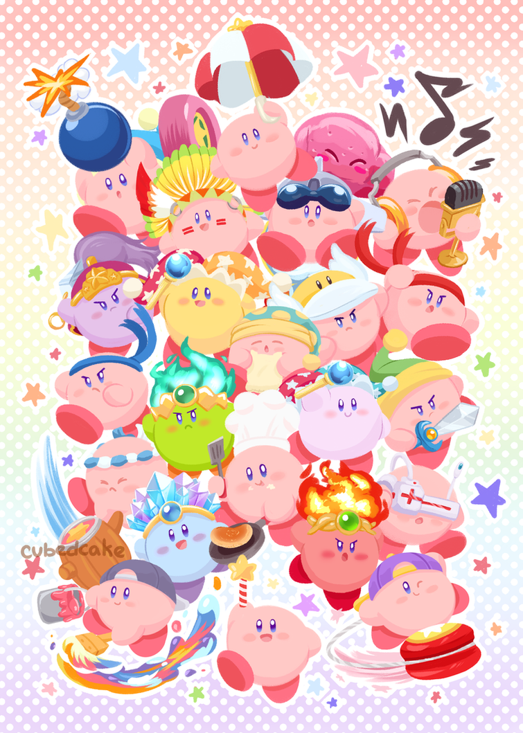 Kirby Super Star Ultra By CubedCake
