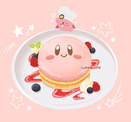 Kirby's Fluffy Pancakes by CubedCake