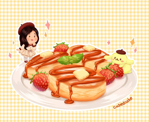Commission: Souffle Pancakes