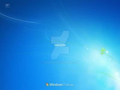 Windows 7 Build 7057 Logon Xp by Xonrick
