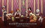 BOOKWYRMS Webcomic