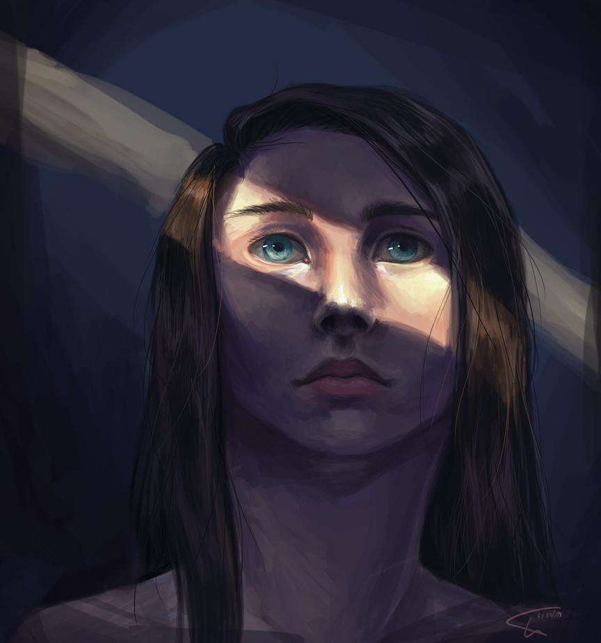 Light study by JaneCherrytree