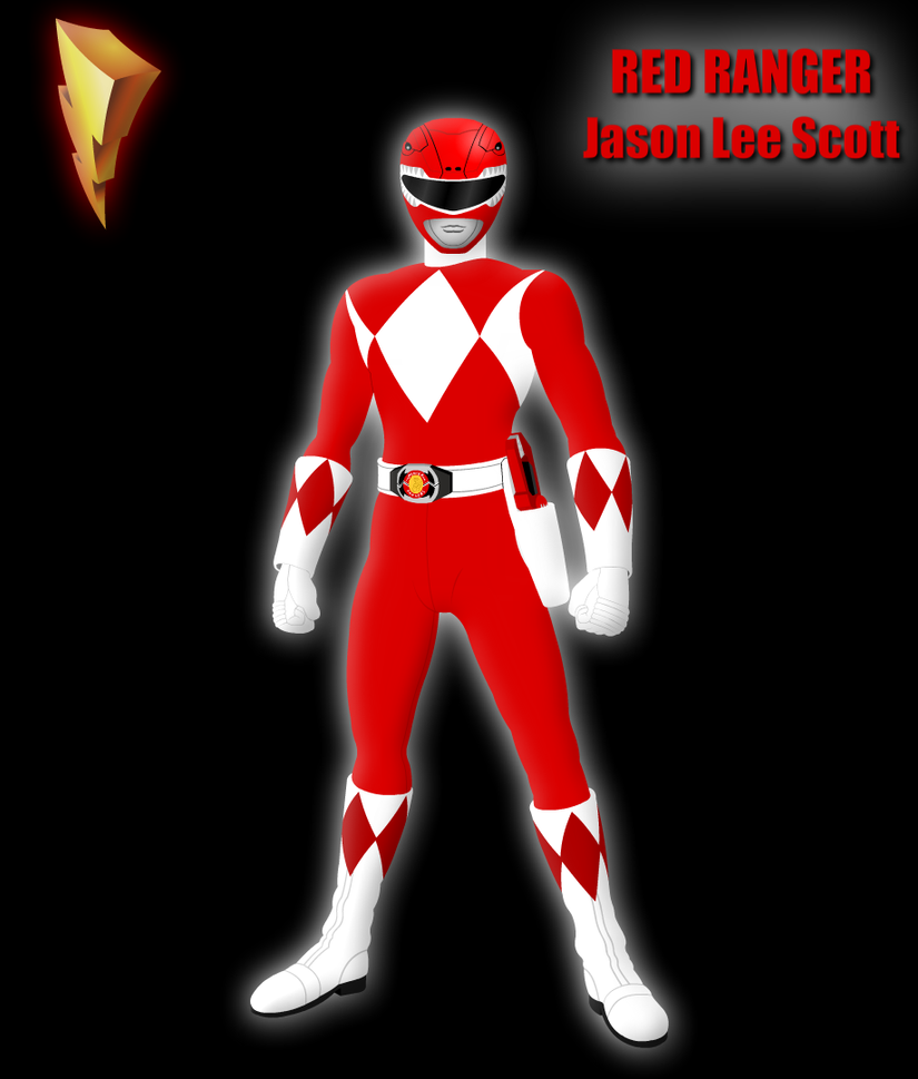 Mighty Morphin Power Rangers Wallpaper: Red Ranger By Yurtigo On DeviantArt