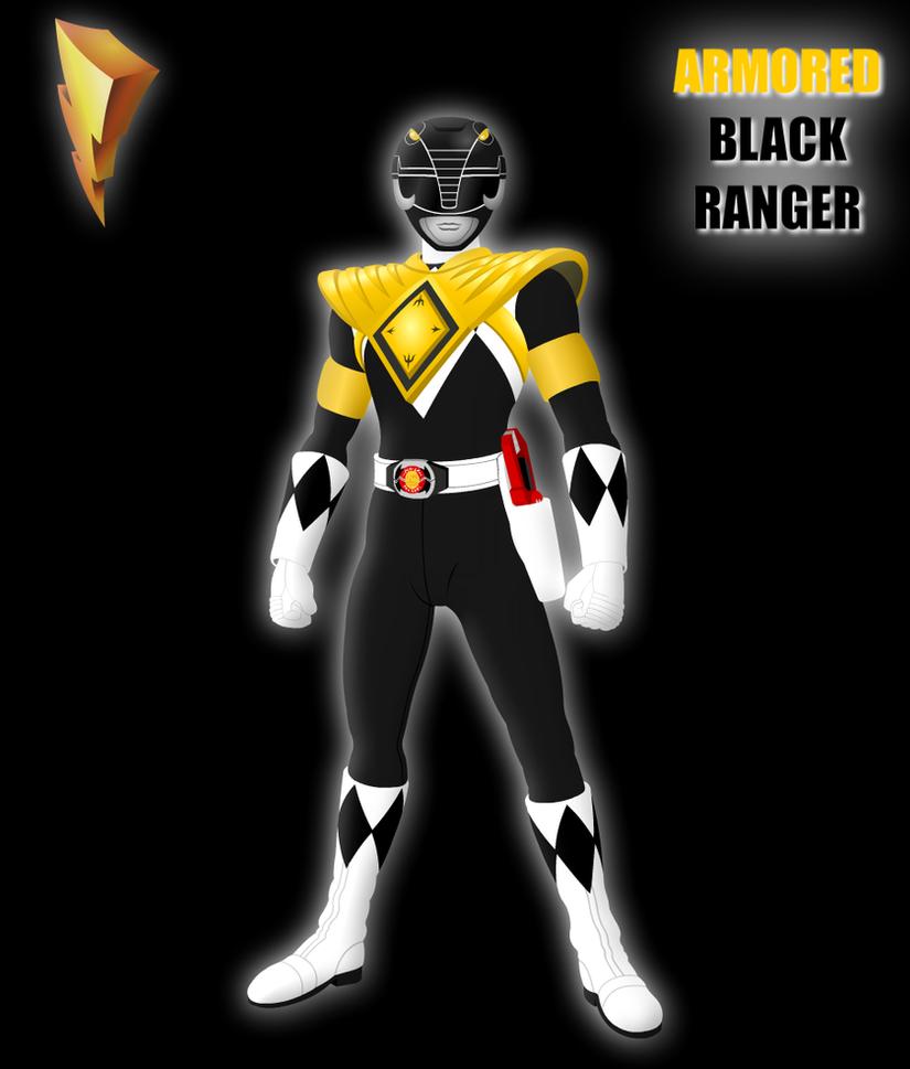 Mighty Morphin Power Rangers Wallpaper: Armored Black Ranger By Yurtigo On DeviantArt