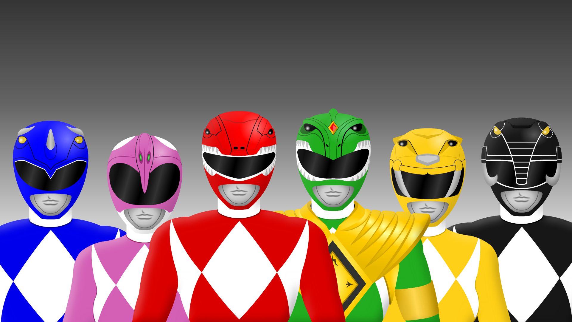 original mighty morphin power rangersyurtigo on deviantart