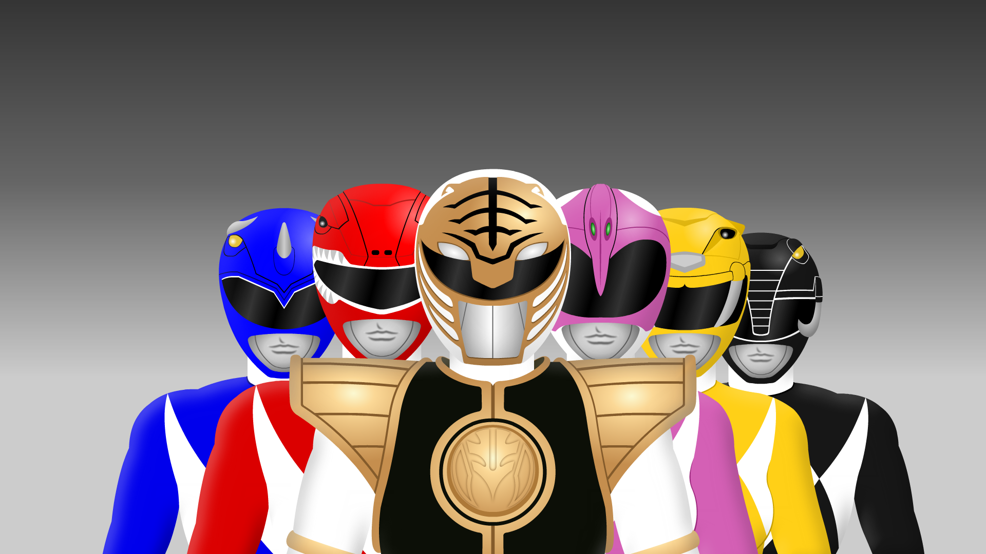 mighty morphin power rangersyurtigo on deviantart