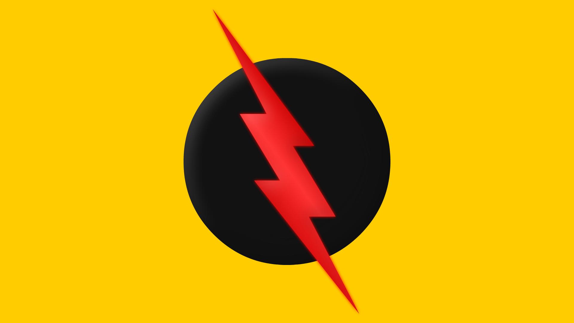reverse flash symbol by yurtigo on deviantart. Black Bedroom Furniture Sets. Home Design Ideas