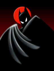1992 Batman Animated Series by Yurtigo