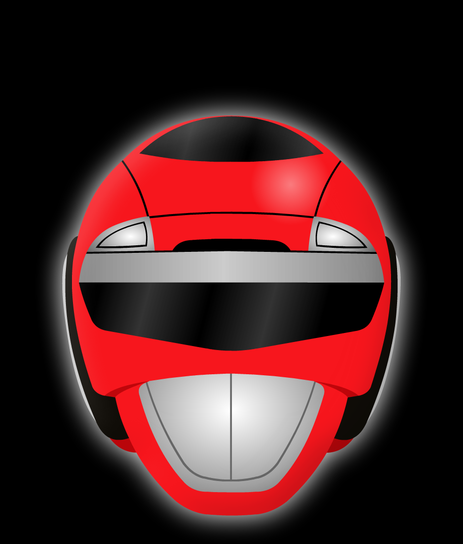 Red Turbo Ranger Helmet Red Turbo Helmet by Yu...
