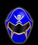 Gokai Blue Helmet