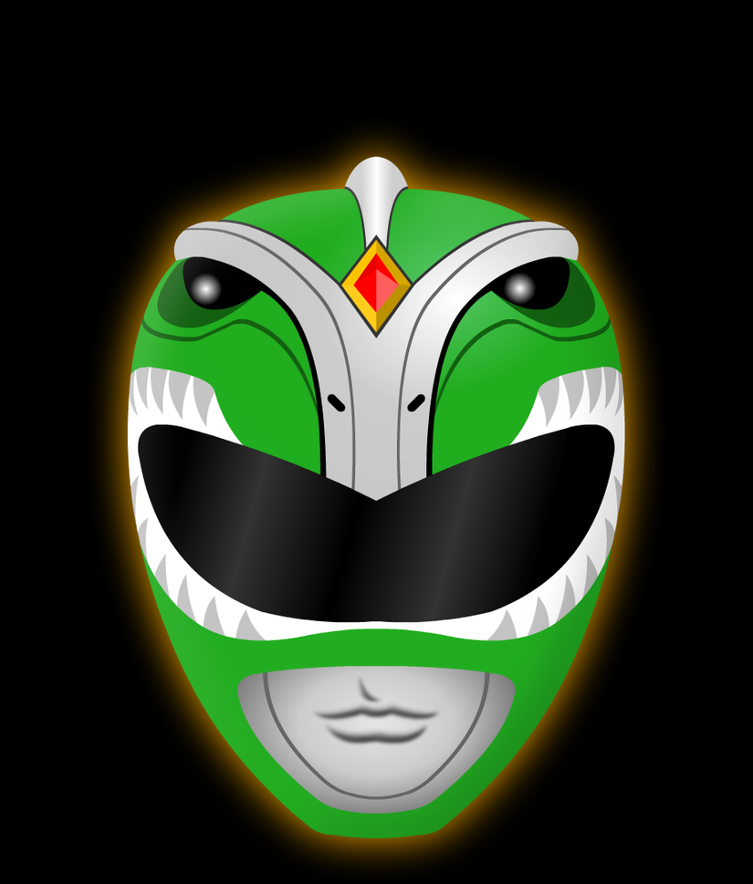 Green Ranger Helmet By Yurtigo On Deviantart
