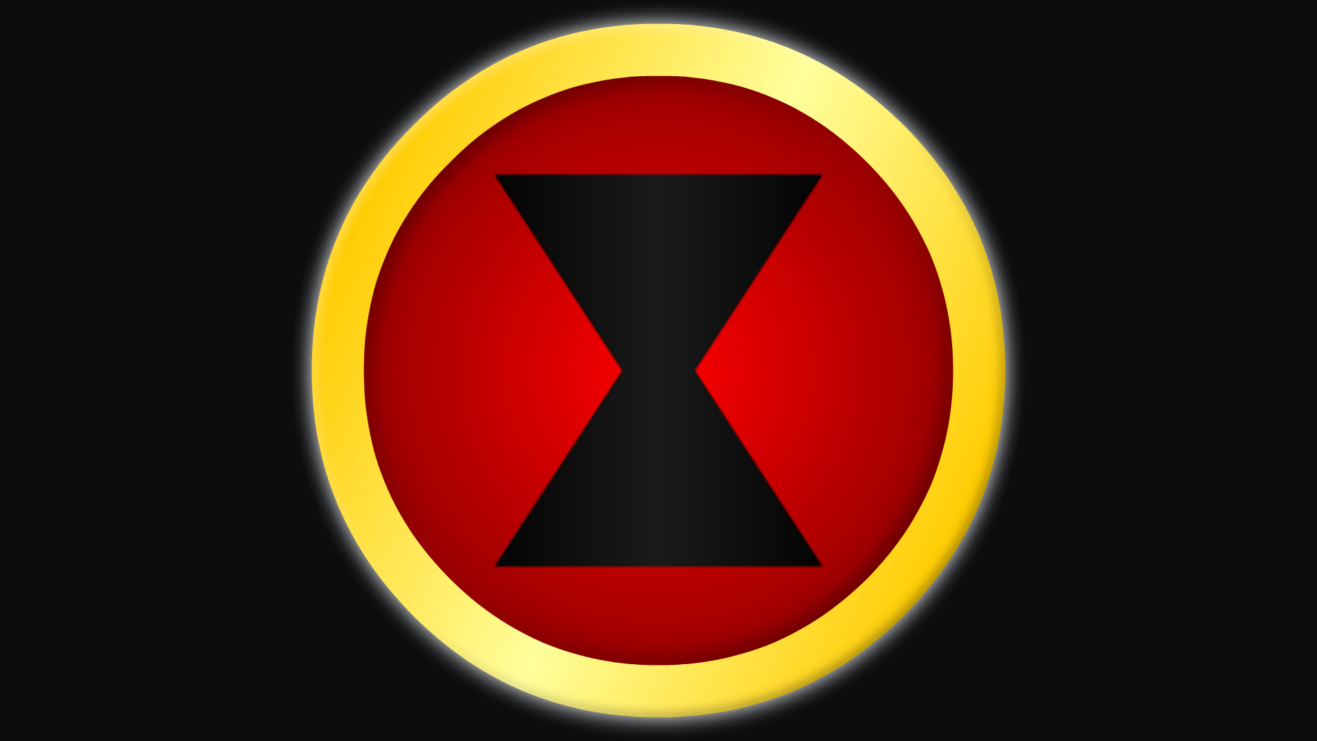 Black widow marvel avengers symbol - photo#1