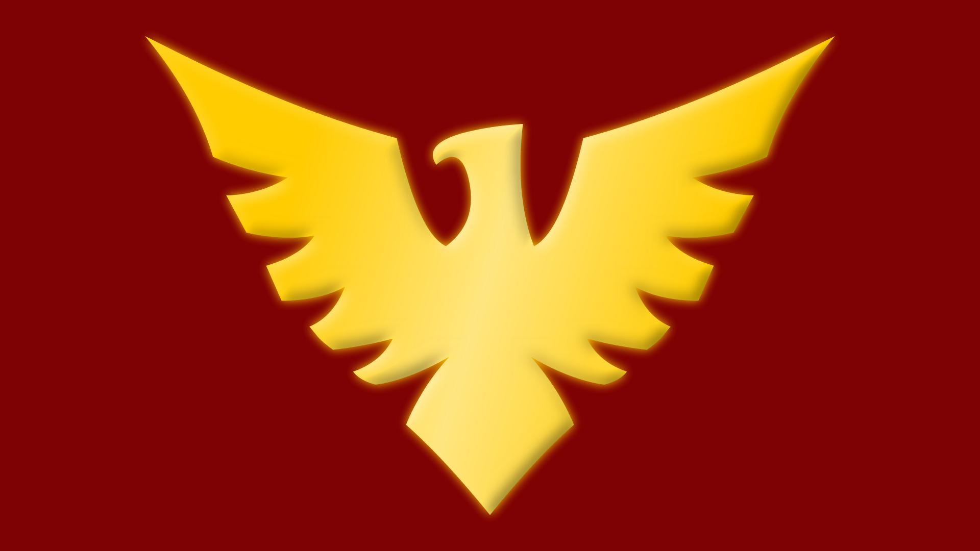 Dark Phoenix Logo Dark Phoenix Symbol by Yurtigo