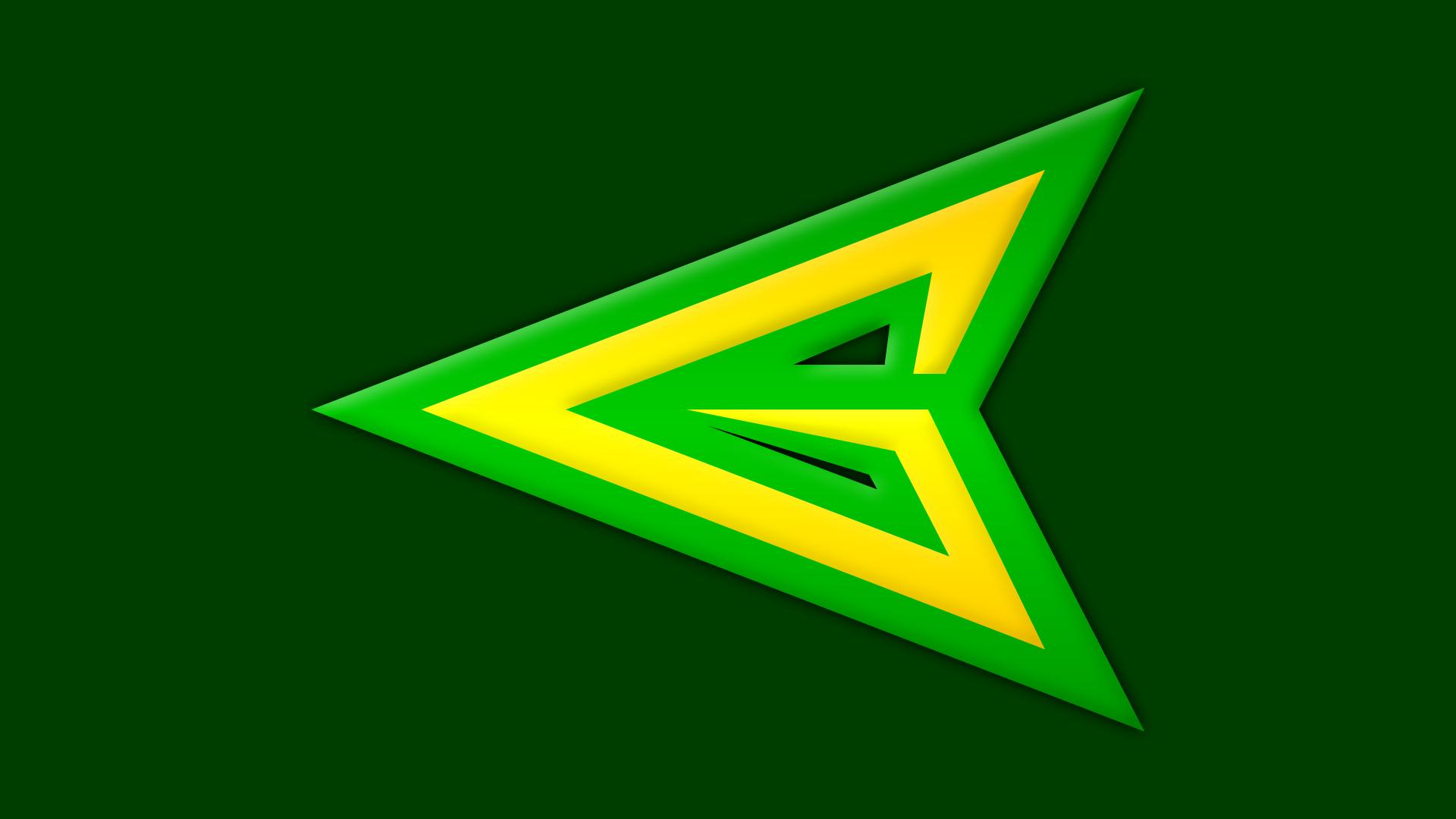 Green Arrow Symbol by Yurtigo on DeviantArt Green Arrow Superhero Logo