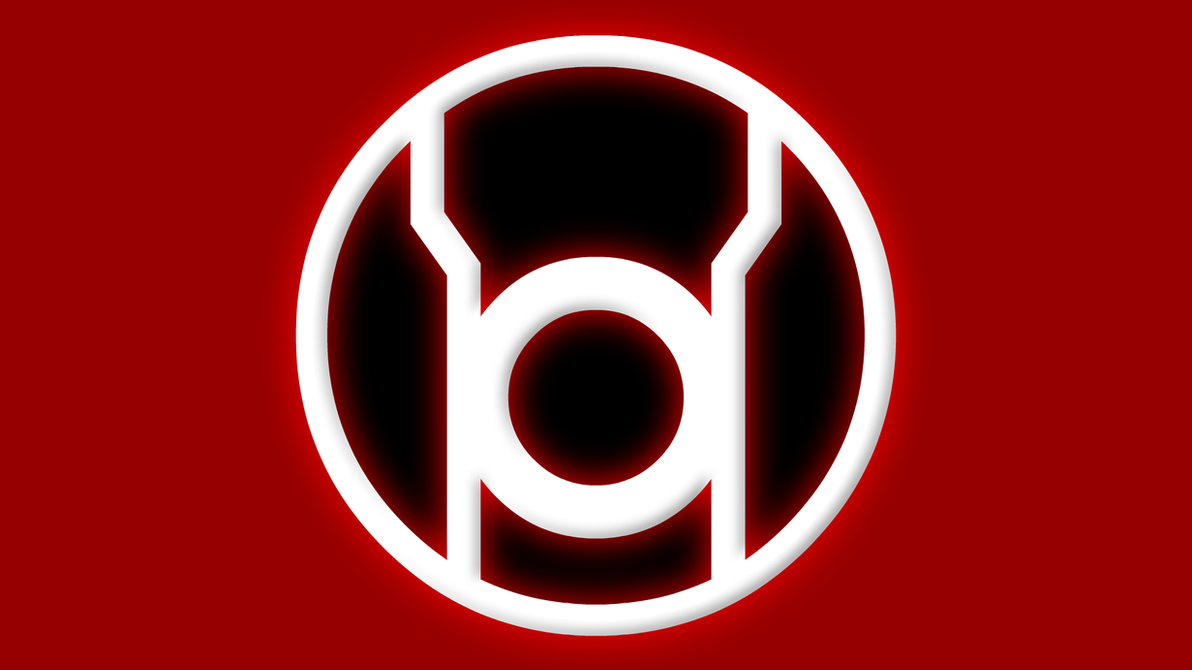 Red lantern corps symbol wallpaper - photo#8