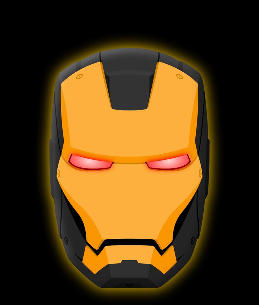 Iron Man Black And Gold Helmet By Yurtigo On Deviantart Rh Yurtigo  Deviantart Com