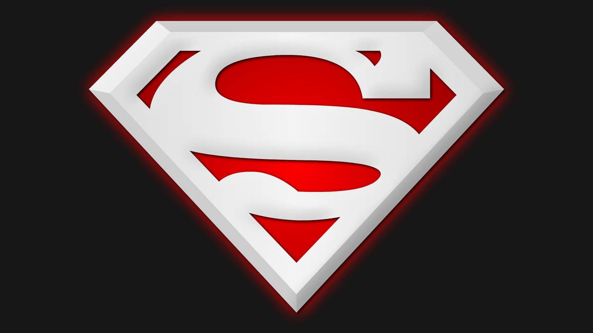 Супермен картинки знак на белом фоне