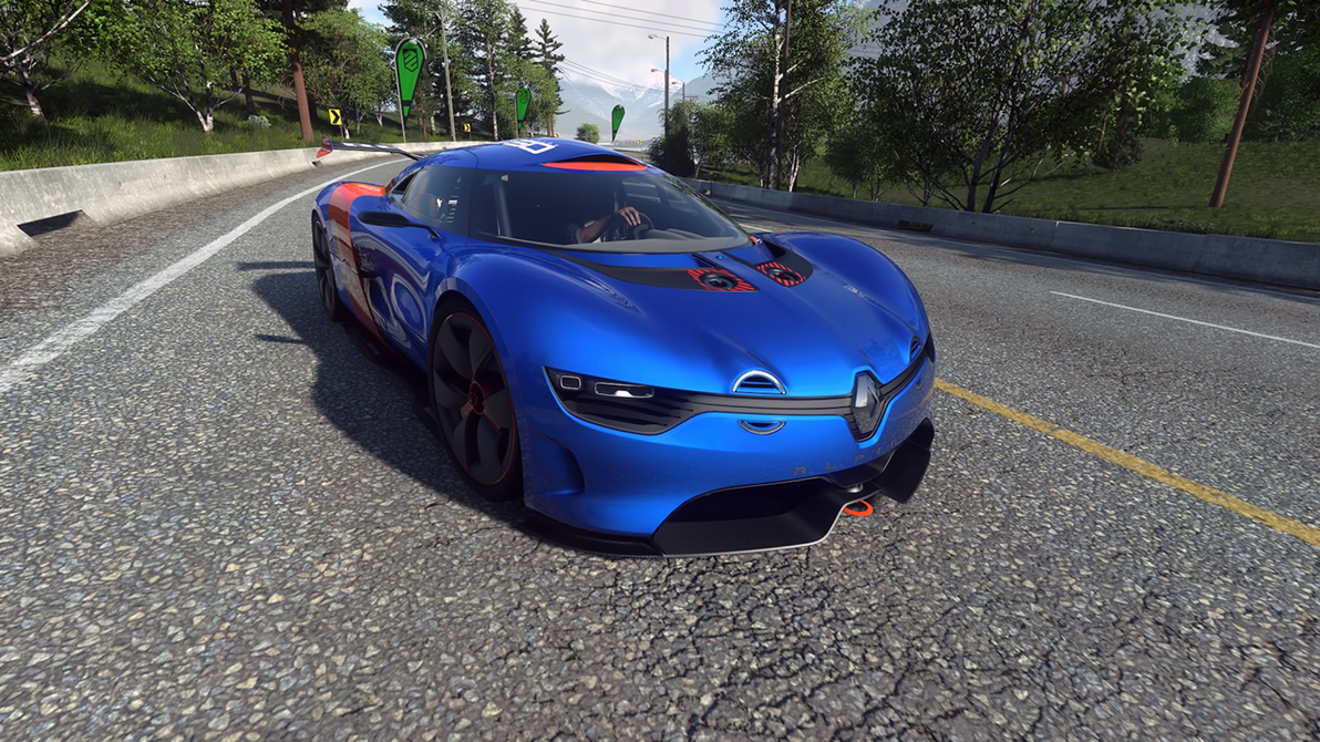 renault alpine a110 50 driveclub by yurtigo on deviantart. Black Bedroom Furniture Sets. Home Design Ideas