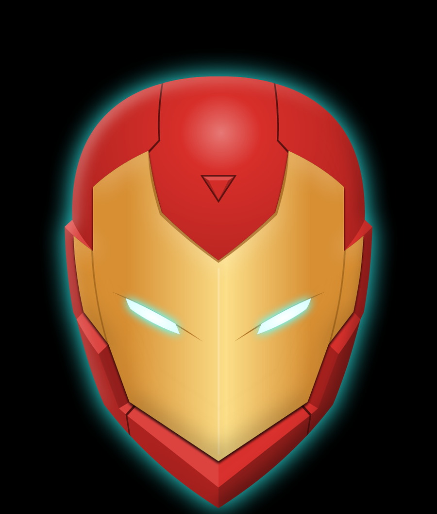 how to draw iron man 3 helmet
