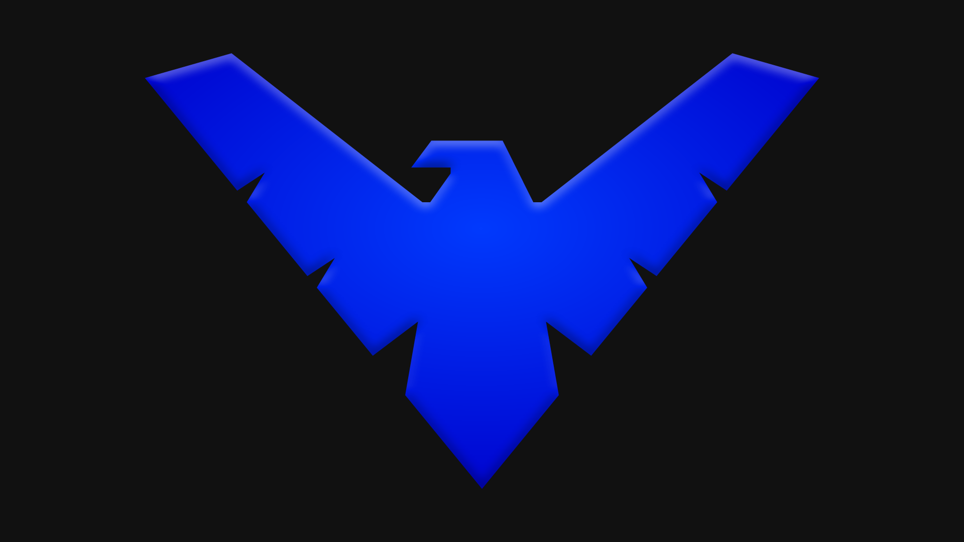 Nightwing Symbol by Yurtigo on DeviantArt