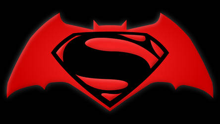 Batman v Superman Symbol by Yurtigo
