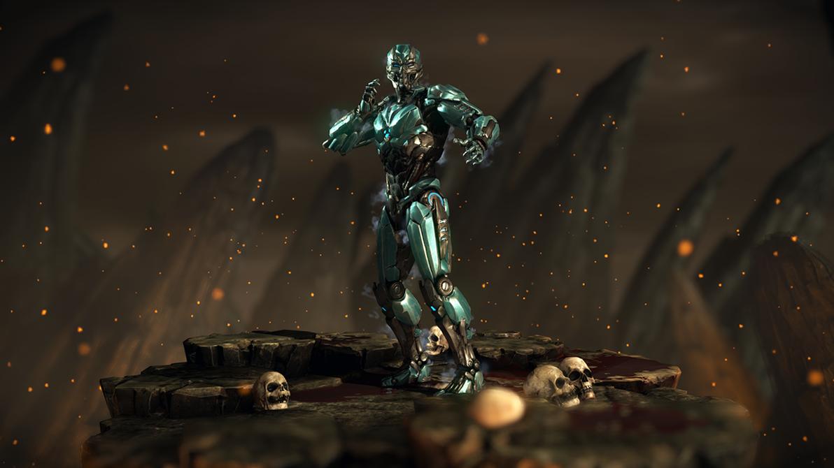 Cyber Sub-Zero - Mortal Kombat XL by Yurtigo on DeviantArt