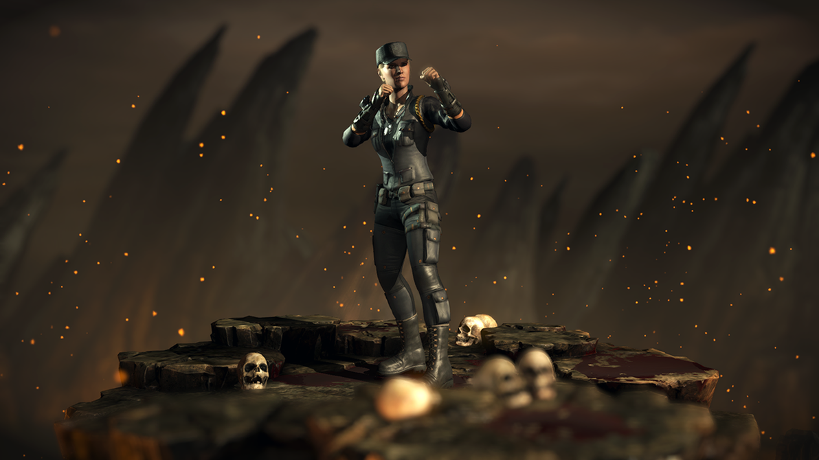 Sonya Blade - Mortal Kombat XL by Yurtigo on DeviantArt