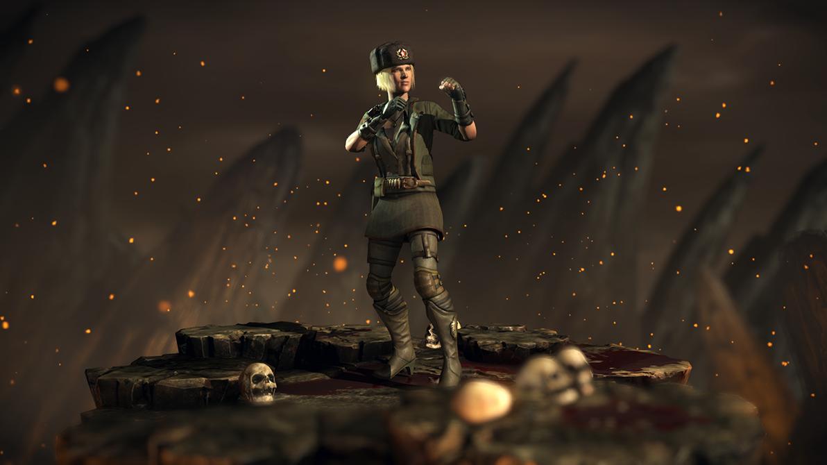 Motherland Sonya Blade - Mortal Kombat XL by Yurtigo on ...