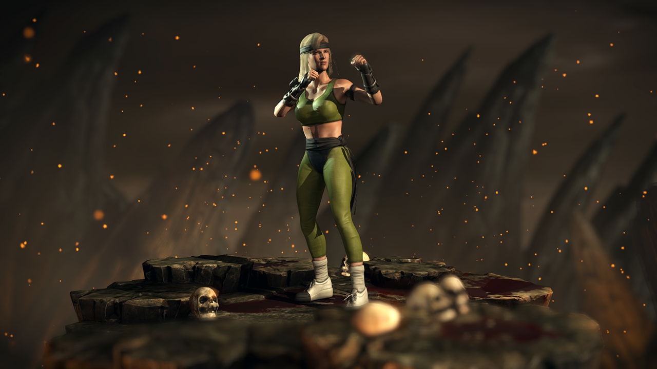 Mk1 Sonya Blade Mortal Kombat Xl By Yurtigo On Deviantart