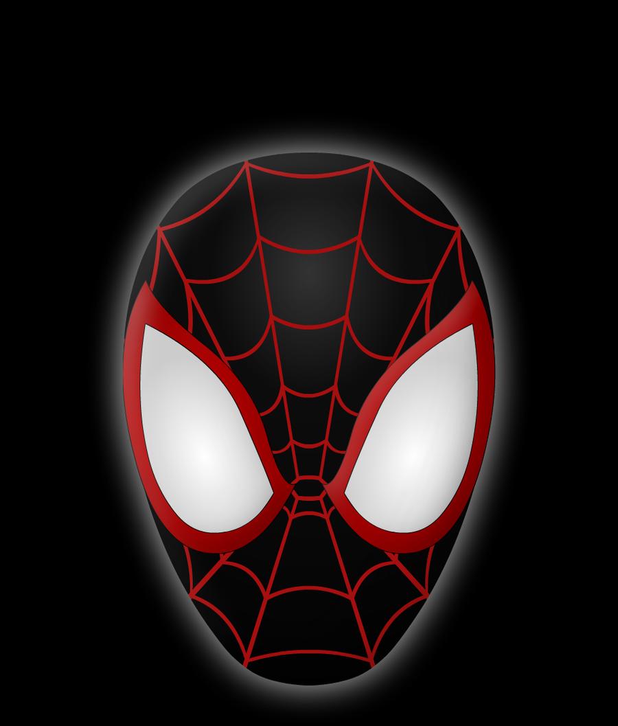 Человек паук картинка голова