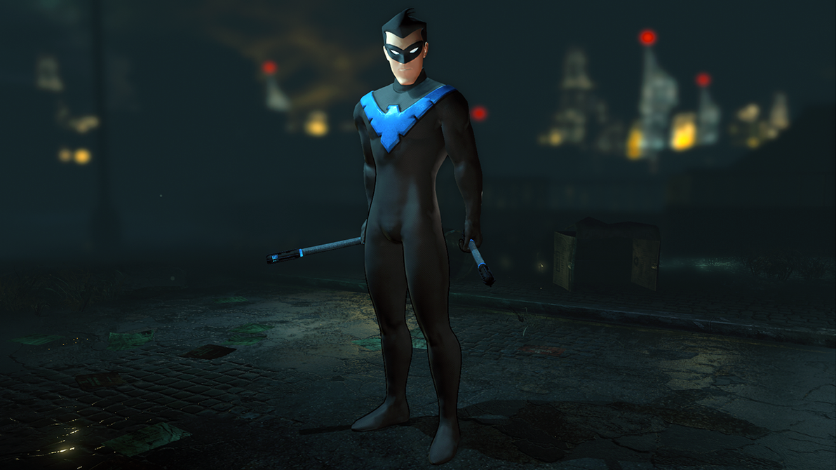 Animated Nightwing - Batman: Arkham City by Yurtigo on ...