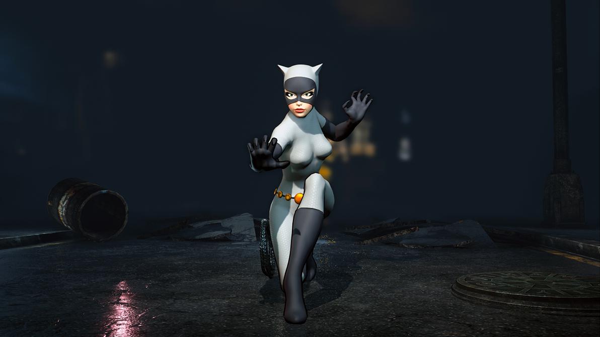 Animated Catwoman - Batman: Arkham City by Yurtigo on ...