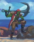 Pirate Orc