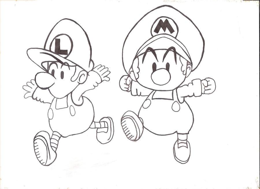 Baby Mario and Luigi by IsisHathor on DeviantArt
