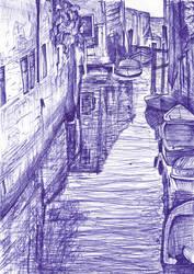 Venice Ballpoint 1 by Jynt0