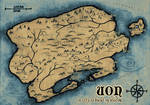 World of Uon - fantasy map for RPGSoc