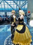 Rin and Len Anime Expo Day 1