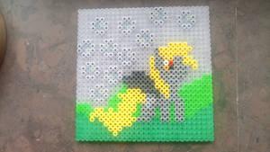 Derpy Hooves Perler Beads