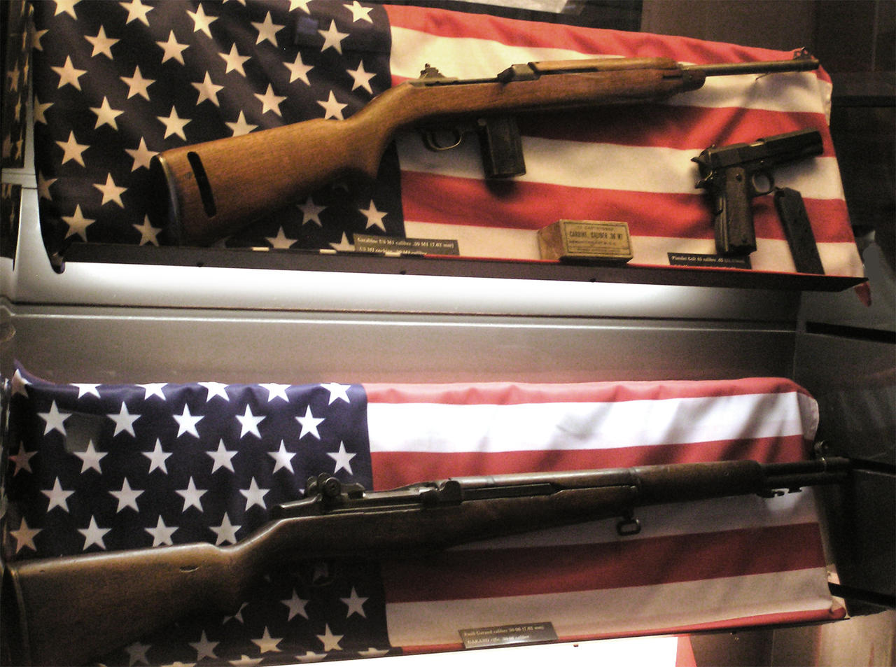 M1 Carbine, Garand, M1911 by pete-c-89