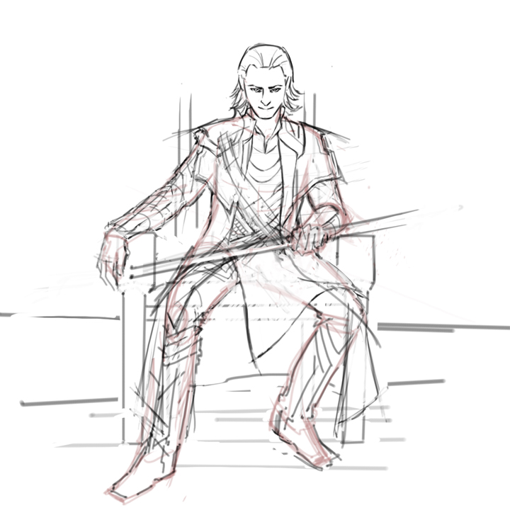 avengers coloring pages loki - photo#21