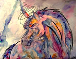 Unicorn by ArafelShadow