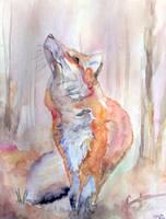 Fox by ArafelShadow
