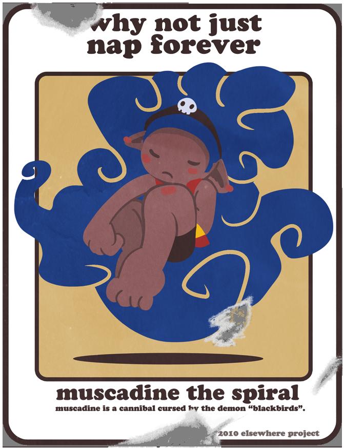 Sticker Set - Muscadine by Dizzybone