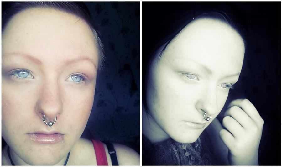 Albino Makeup by AsILyingDead on DeviantArt