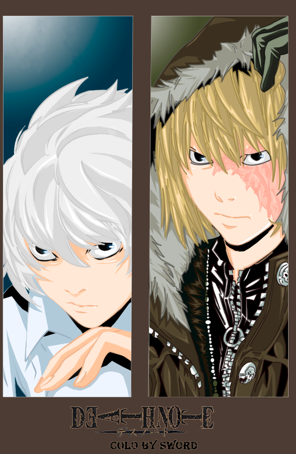 near and mello death note by mirage sword on deviantart