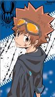 Tsuna - KH Reborn by Mirage-Sword