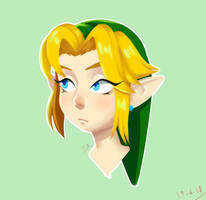 Young Link by AmethystVolutions