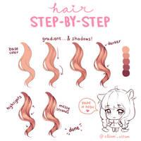 [Tutorial] Hair coloring by aliam-vitam
