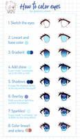 [Tutorial] Eye coloring