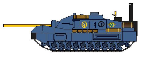 Bastion heavy assault gun by CorporalDeath49